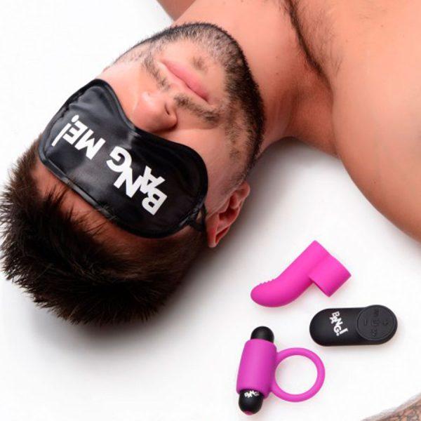 Kit de Pareja Con Bala Vibrante Bang!- Bang! - XR Play Hard - Prueba una nueva experiencia en nuestro Sex Shop
