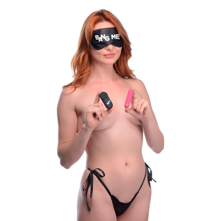 Kit de Bala Vibrante Power Panty - Bang! - XR Play Hard - Prueba una nueva experiencia en nuestro Sex Shop