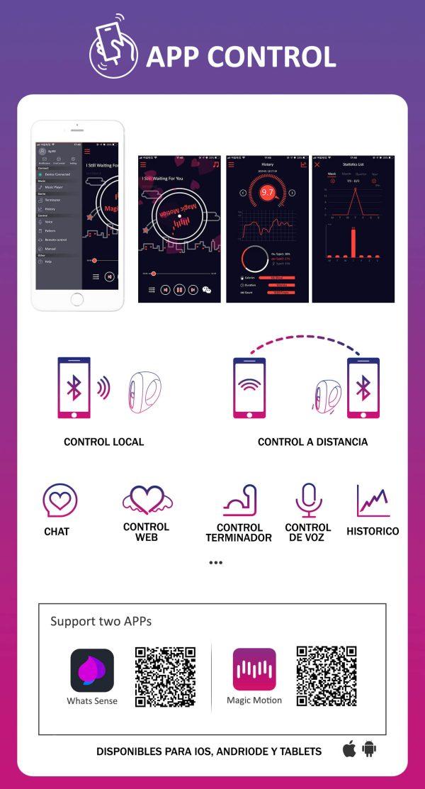 Magic Dante - Anillo Inteligente - Con App Gratis - MagicMotion - Juguetes y productos para todos los bolsillos. Envíos rápidos y discretos a todo Chile