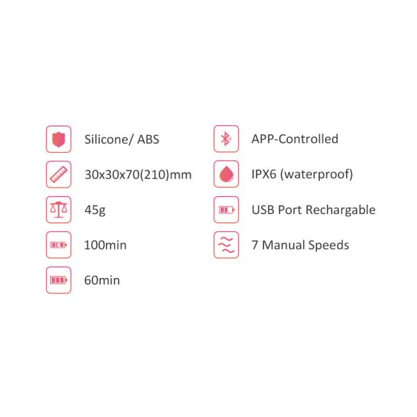 Magic Flamingo – Vibrador - Con App Gratis - MagicMotion - Juguetes y productos para todos los bolsillos. Envíos rápidos y discretos a todo Chile