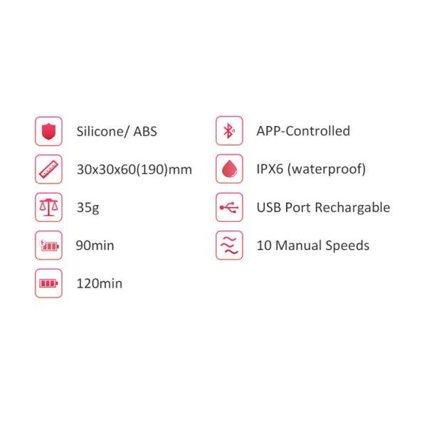Magic Sundae - Huevo Vibrador Inteligente - - MagicMotion - Juguetes y productos para todos los bolsillos. Envíos rápidos y discretos a todo Chile