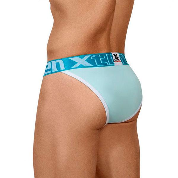 Big Pouch Bikini Color Light Blue Xtreme - Xtremen - Andrew Christian Underwear - Clever - Sexsy Boy - JOR - Massive - Pump! - Intymen Underwear - Mapale - PPU - Hidden - HDN - Under yours - Croptop -Arnes- Harness - Brief, Boxer, Jockstrap, Sutien, Thong, Tanga, Bikini, Singlet - Lencería eróticas para Ellos, Lencería femenina, Juguetes eróticos, consoladores, Envíos rápidos y discretos