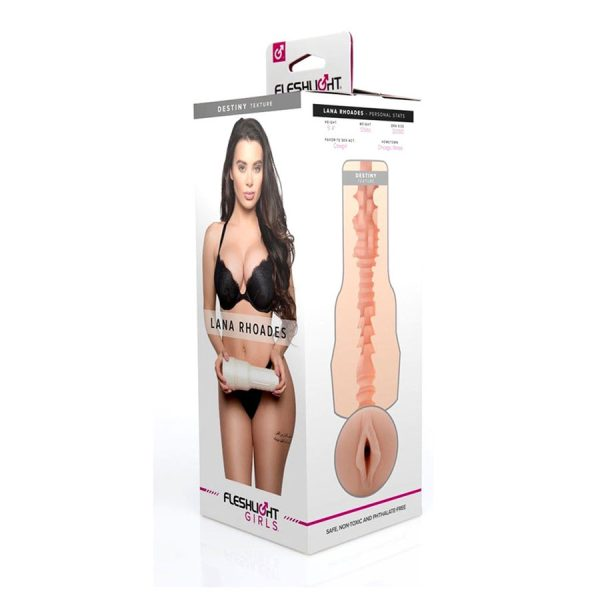 Fleshlight Girls Lana Rhoades Destiny - Vulva - Fleshlight - Potencia tu placer y vive un orgasmo único con nuestro miles de producto - Envíos rápidos y discretos a todo Chile