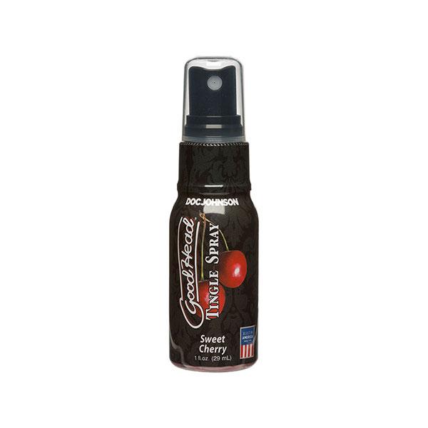 Spray Estimulante Sexo Oral Hormigueo Spray Cherry - Doc Johnson - SwissNavy - Satisfayer- Trojan - Vibradores, estimuladores, consoladores, dildos, plugs, anillos realistas, penes, masturbadores, lubricantes, cosmetica. Gran variedad de juguetes sexuales - Envíos rápidos y discretos a todo Chile