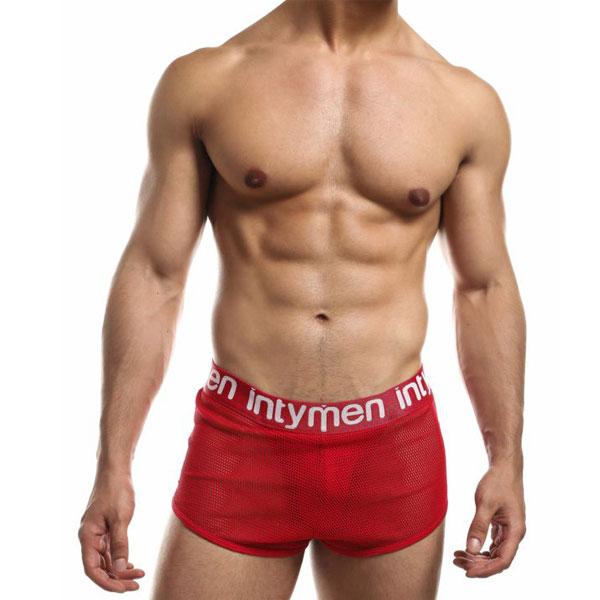 Jock Mesh Cover - Red - Intymen - Lencería y disfraces eróticos para sacar tu lado más sexy - Sweetshpchile.cl