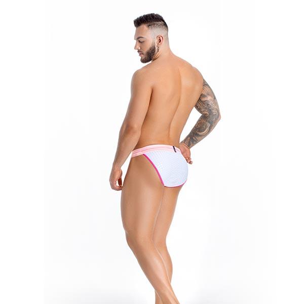 Bikini Sao Paulo - White - DMK - lenceria - slip - sex - sexshop - sweetshopchile - La mejor y más variada selección de juguetes sexuales del mercado