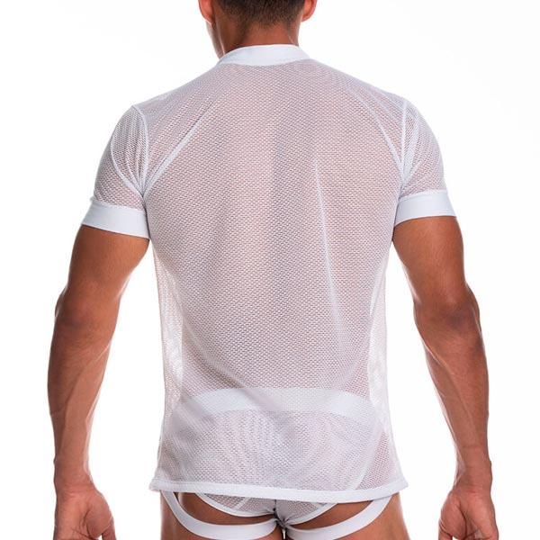 Secrecy Tshirt White - gigo - polera - sex - sexshop - sweetshopchile - La mejor y más variada selección de juguetes sexuales del mercado