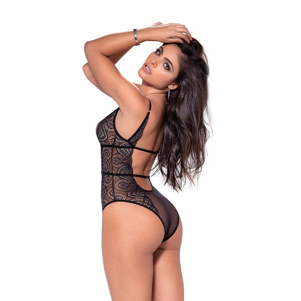 Bodie De Encaje Transparente - mapale - lenceria - sex - sexshop - sweetshopchile - Nuestras colecciones están pensadas para satisfacer todas y cada una de las necesidades de la mujer actual